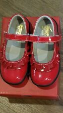 """New Fall 2019 See Kai Run """"Belle II"""" red patent leather mary jane shoes, 13,NIB"""