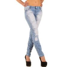 Damen-Bootcut-Jeans mit niedriger Bundhöhe (en) Hosengröße 38