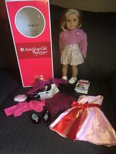 American Girl Kit doll w/Blond Hair & Blue Eyes With Several Accessories