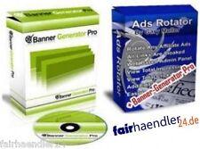 BANNER GENERATOR PRO + ADS Rotator + Grafik Software MRR DESIGN Grafikdesign WIN