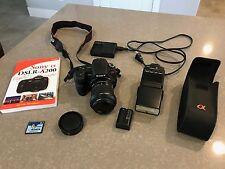 Sony Alpha DSLR-A200 10.2 MP Digital SLR Camera with HVL-F42AM External Flash
