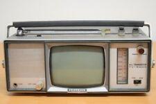 Für begeisterte Bastler: Universum FK100R All Transistor TV / Radio Kombination!