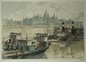 FIGURA Hans (1898-1978) Budapest, Parlament.