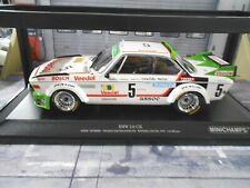 BMW 3.0 CSL Gr.2 Winner Spa 24h 1976 #5 Chavan Demuth Detrin S Minichamps 1:18