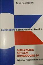 Kosniowski Mathematik mit dem Commodore 64 (Sachbuchreihe 8) (1984, Buch)
