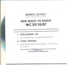 AVRIL LAVIGNE RARE Hot AUSTRALIAN Radio PROMO Only CD