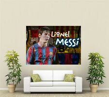 More details for lionel messi giant xl wall art deco poster print sp168