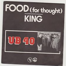 *UB 40 * FOOD / KING * Reggae . Excellent état . 1980 . Vogue 101325