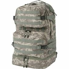 Camo Waterproof Outdoor Backpack, Mens Military Hiking Carry-On Camping Bookbag