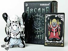The Hierophant(White) by JPK - Kidrobot Arcane Divination Dunny Series