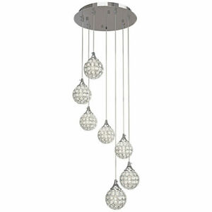 Artika Honeymoon LED Fixture Dimmable and Height Adjustable with 7-Pendant Light