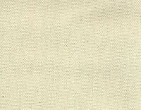 "Roc-Lon Duck Unbleached 6oz 45/47"" Wide  100% Cotton Sold by the Yard"