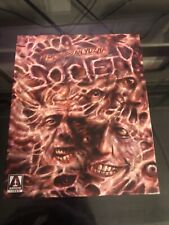 SOCIETY ARROW BOX SET LIMITED EDITION BLU-RAY WITH COMIC BOOK (USED)