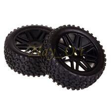 2x 1/10 HSP Off-road Buggy 06101 Front Wheel Rim Tyre,Tires Insert Sponge 66015