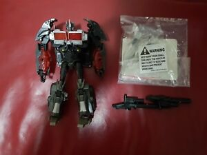 Transformers Prime Takara AM 25 Nemesis Prime with Addon Weapons LOT PRE-OWNED