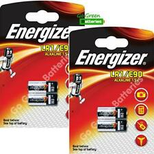 4 x Energizer LR1 MN9100 1.5V Alkaline Batteries 910A E90 KN AM5 Security Remote