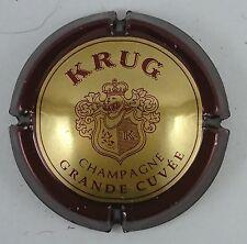 capsule nabu champagne KRUG n°51a petit K or contour bordeaux