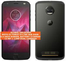 MOTOROLA MOTO Z2 FORCE XT1789 Unlocked 4gb 64gb Dual Cameras Single sim Android