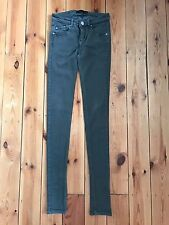 "Victoria Beckham Damen kahki grün ""Skinny Leg"" Jeans W25 L34"