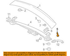 AUDI OEM 08-15 TT Quattro Spoiler-Bracket Bolt WHT001940A