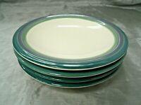 "Pfaltzgraff MOUNTAIN SHADOW Set of 5-8"" Salad Dessert Plates Stoneware USA euc"