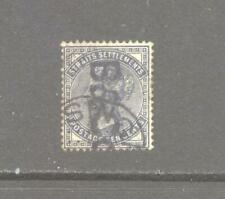 Straits Settlements QV 1882 10c with B & Co overprint.  Good Used.