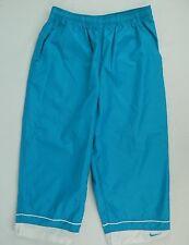 Nike Athletic Capris Womens Medium Size 8 10 Cropped Pants turqouise white