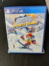 Winter Sports Games PS4 Playstation 4 - Neuwertiger Zustand!