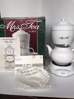 MRS TEA by Mr Coffee HOT TEA MAKER 6 Cup Gently Used Works Perfectly Org. Box
