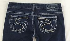 SILVER JEANS Sale New Buckle Low Rise Frances Bootcut Dark Stretch Jean 28 X 31