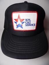 Rare Vintage 1980s KPL KANSAS GAS SERVICE Advertising Patch SNAPBACK HAT CAP