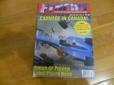 F1 NEWS  FORMULA 1 RACING MAGAZINE #10 JUNE 1998  FRENCH GP CARNAGE IN CANADA