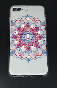 Mandala Series Slim High Quality Crystals Case for Apple iPhone 7 Plus, 7+