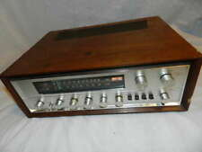 Vintage Pioneer SX-700T Stereo Receiver w/Wood Cabinet Parts/Repair