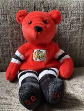"MILLENNIUM 9"" Chicago Blackhawks SGA 2000 Ty Plush Stuffed Vintage Beanie Baby"
