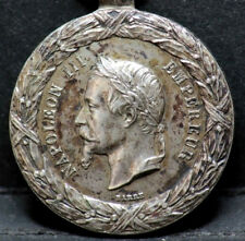 MEDAILLE NAPOLEON III 1859 CAMPAGNE D'ITALIE - FRANCE Argent / Silver medal