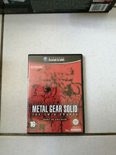 METAL GEAR SOLID THE TWIN SNAKE GAMECUBE