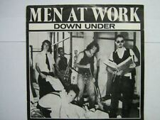 MEN AT WORK 45 TOURS HOLLANDE DOWN UNDER