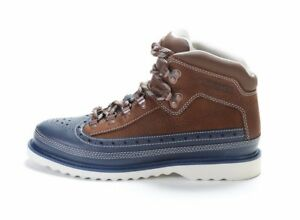 Timberland Men's EURO HIKER MID BROGUE Boots Navy TB0A1FVC b