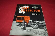 Good Road Machinery Corporation Leaf Collector Brochure FCCA