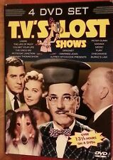 T.V.'S LOST SHOWS  - - FOUR DVD SET    LIKE NEW