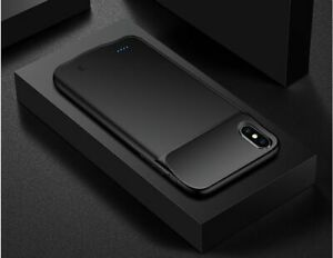 Slim Battery Case For iPhone XS Max X XR 8 Plus Phone Charging Cover Power Bank