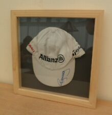 PAUL McGINLEY Signed Golf ALLIANZ Cap Framed in Display Box . Ideal Gift
