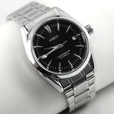 Rare Mens Automatic Mechanical Stainless Steel Luxury Wrist Watch Calendar DAY