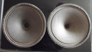 """1 Paar Vintage fullrange Alnico Lautsprecher 12"""" 30 cm DNH Norway Wurlitzer"""
