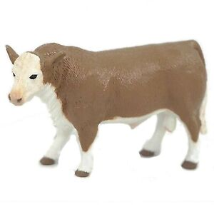 Big Country Toys Rodeo Hereford Bull 1:20 Scale 400