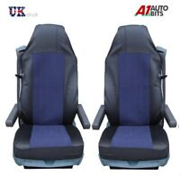 QUALITY DARK BLUE SEAT COVERS TAILORED FOR VOLVO 16 FH16 FH12 FL FE FM NEW
