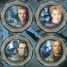 Stargate SG-1 Collector's Ltd. Ed. China Plate Set #1