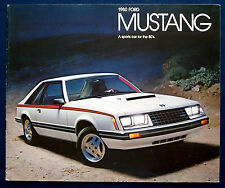 Prospectus Brochure 1980 FORD MUSTANG (USA)