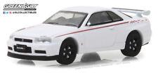 Greenlight 1:64 Tokyo Torque 2001 Nissan Skyline GT-R (BNR34) White Pearl